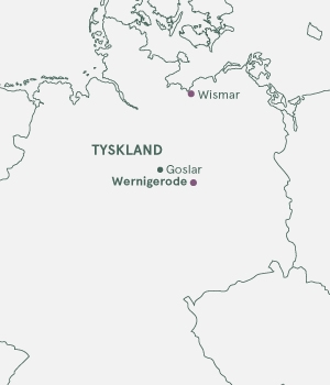 Kort - Wernigerode · Julemarked · Fra Bornholm