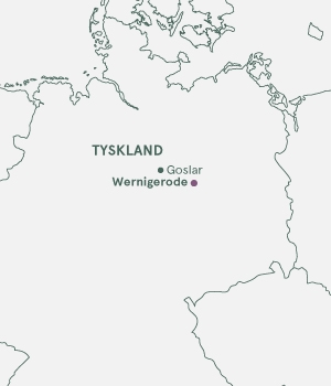 Kort - Wernigerode · Julemarked