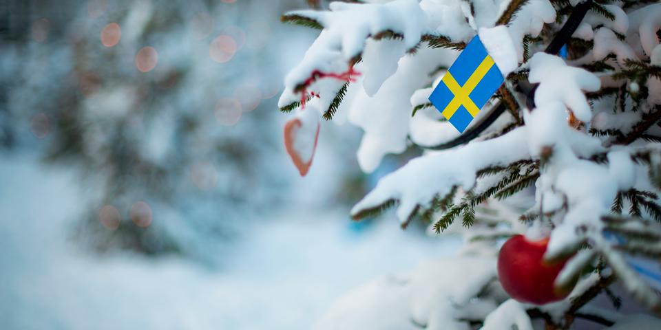 Svensk julestemning.