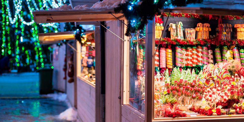Julemarked i Hässleholm.