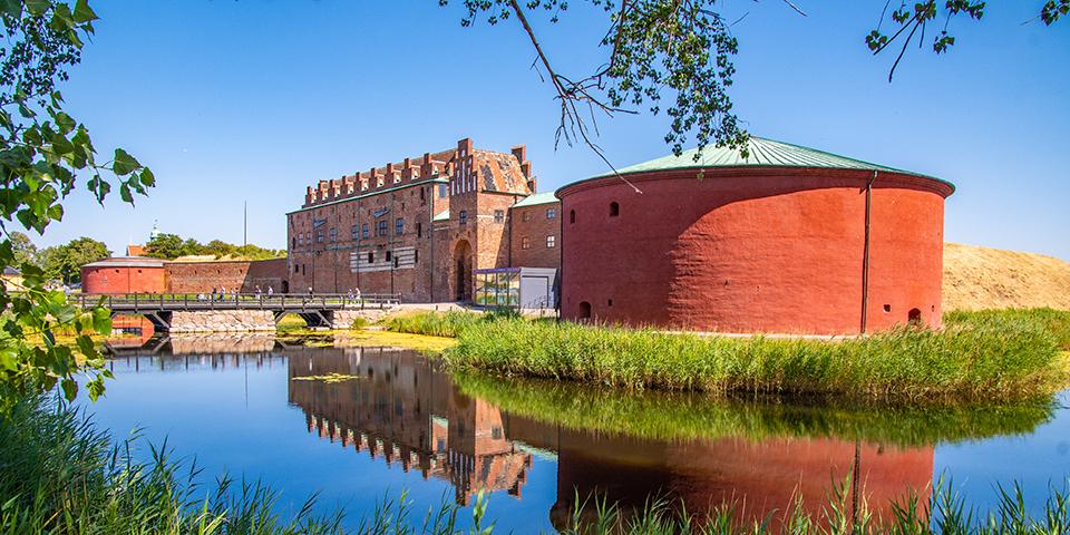 Malmöhus Slott - en stor historisk seværdighed, der har været skiftevis på danske og svenske hænder.