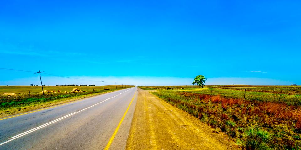 På vej igennem Mpumalanga-provinsen.