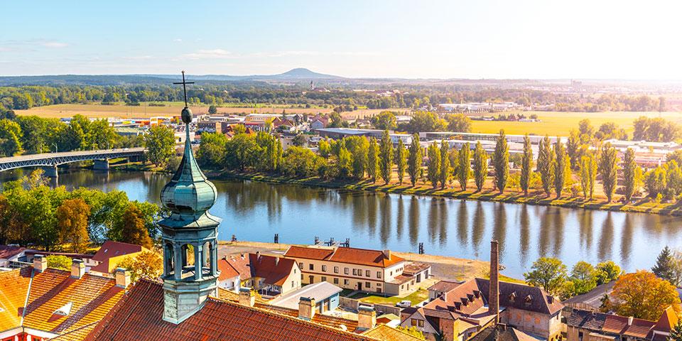 Litomerice er en af de ældste byer i Bøhmen.