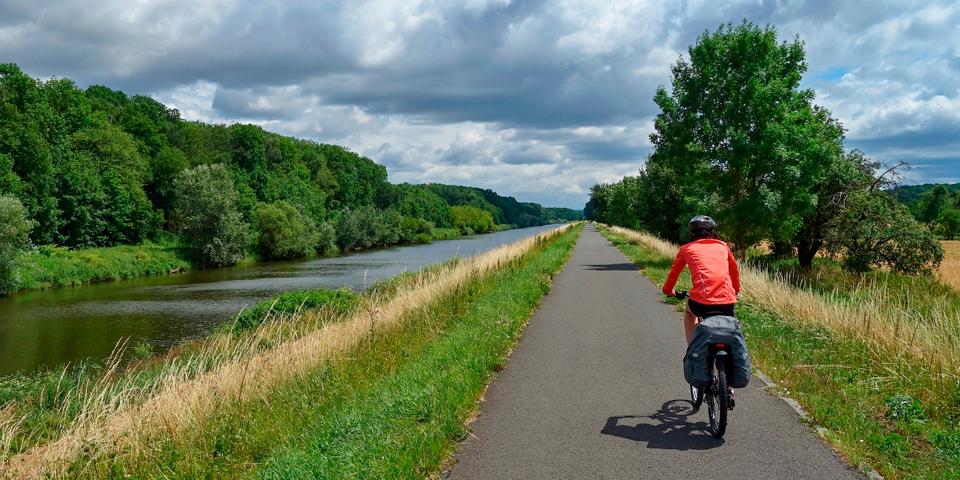 Cykeltur lang Morava.