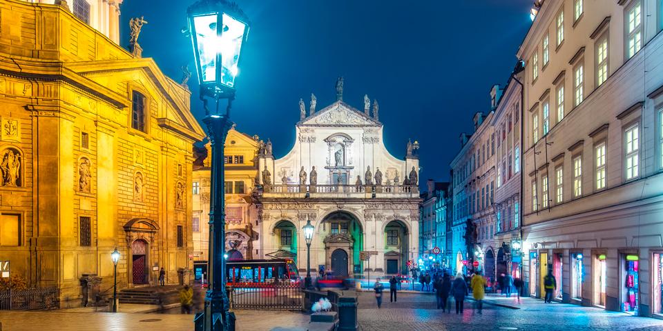 Klementinum, der er en af Europas største barokbygninger.