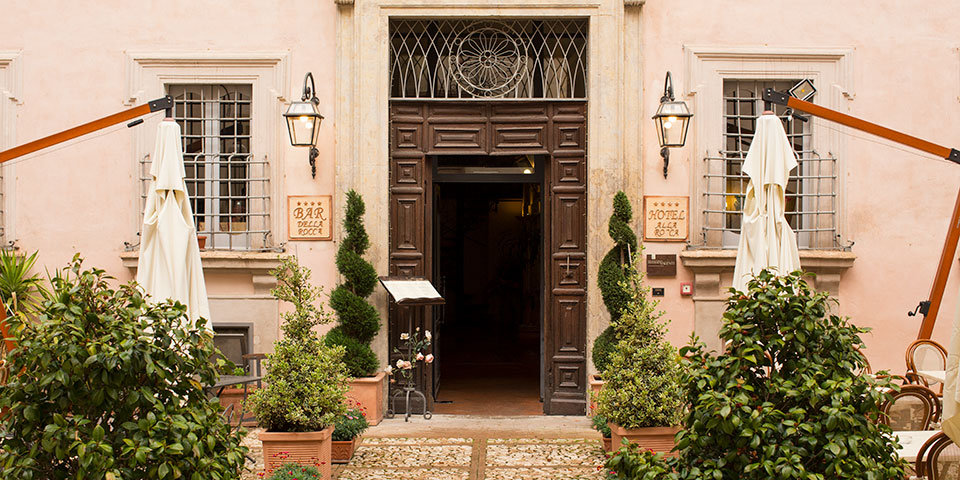 Velkommen til Hotel Antica Dimora alla Rocca i Trevi.