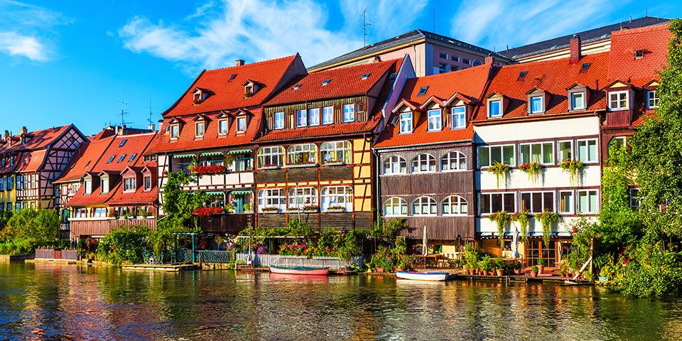 Den gamle bydel i Bamberg er noget helt særligt.