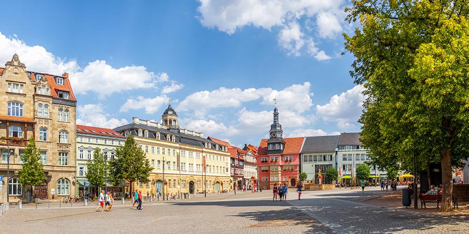 Oplev Eisenach.