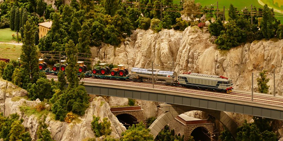 Miniatur Wunderland byder på verdens største modelbane.