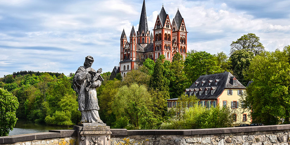 Domkirken i Limburg an der Lahn.