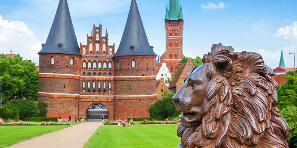 Holsten Tor - porten til Lübeck.