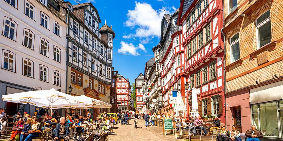 Idylliske Marburg.