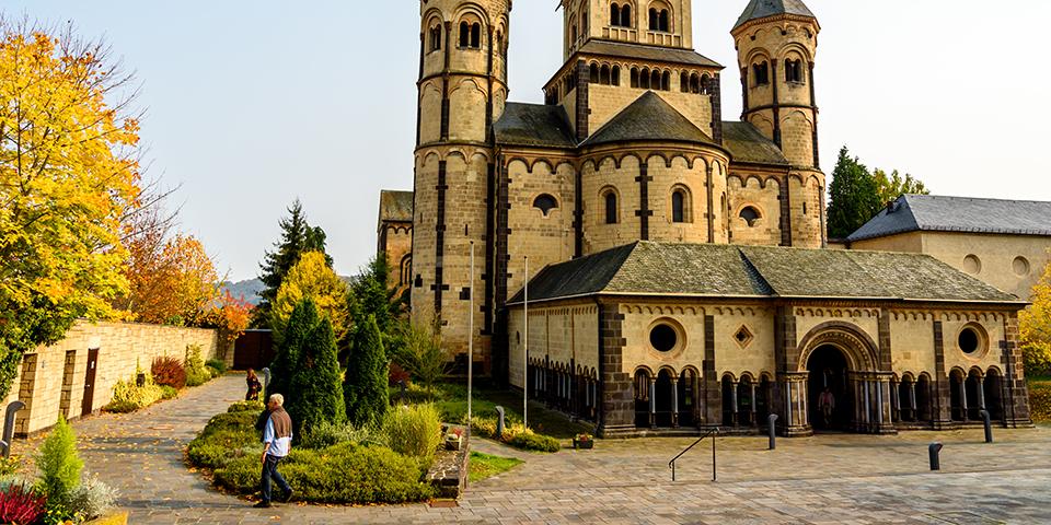 Klosteret Maria Laach.
