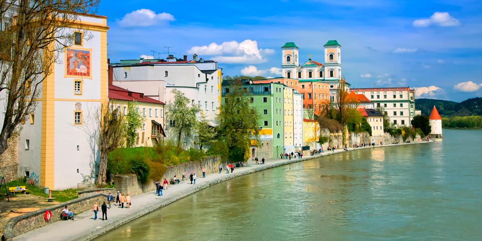 Farverige Passau.