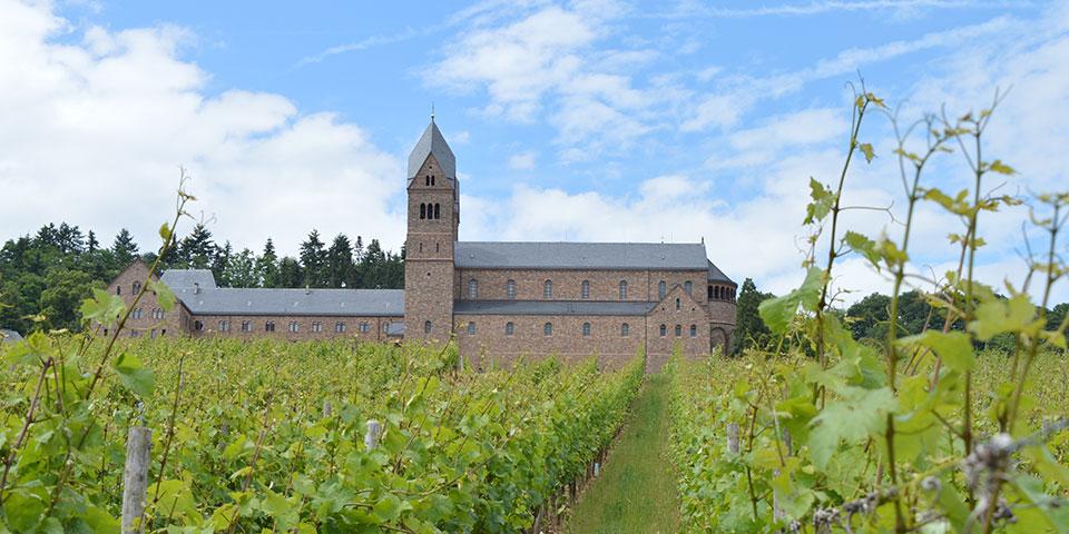 Hildegard-klostret ved Rüdesheim.