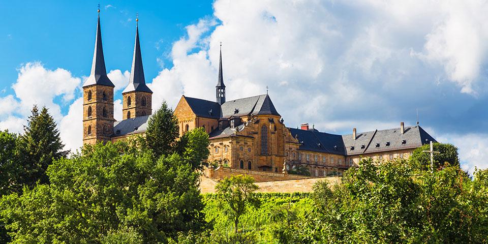 Katedralen i Bamberg.