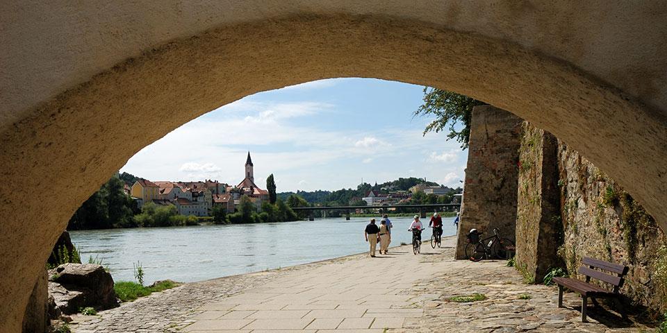 Den charmerende tyske by Passau.