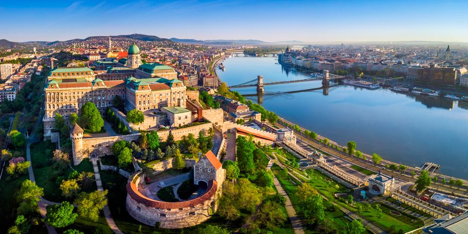 Udsigt over Budapest.