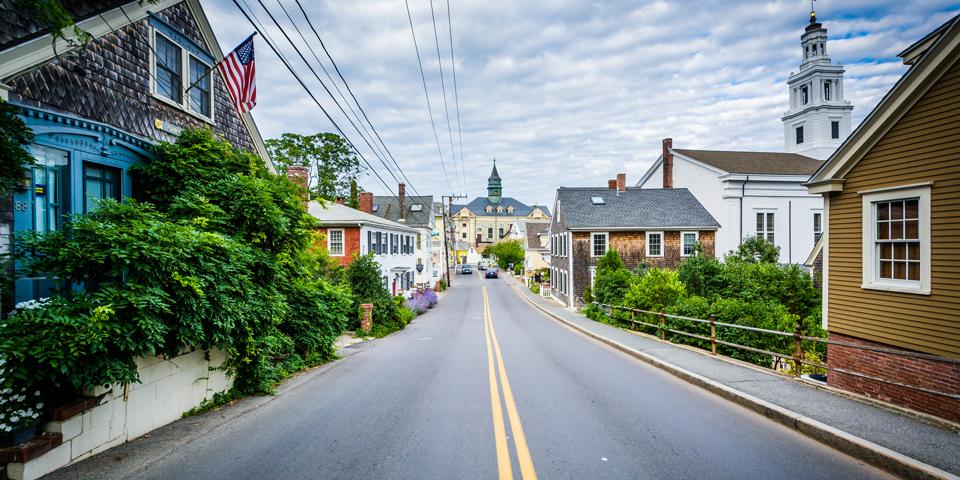 Provincetown på Cape Cod.