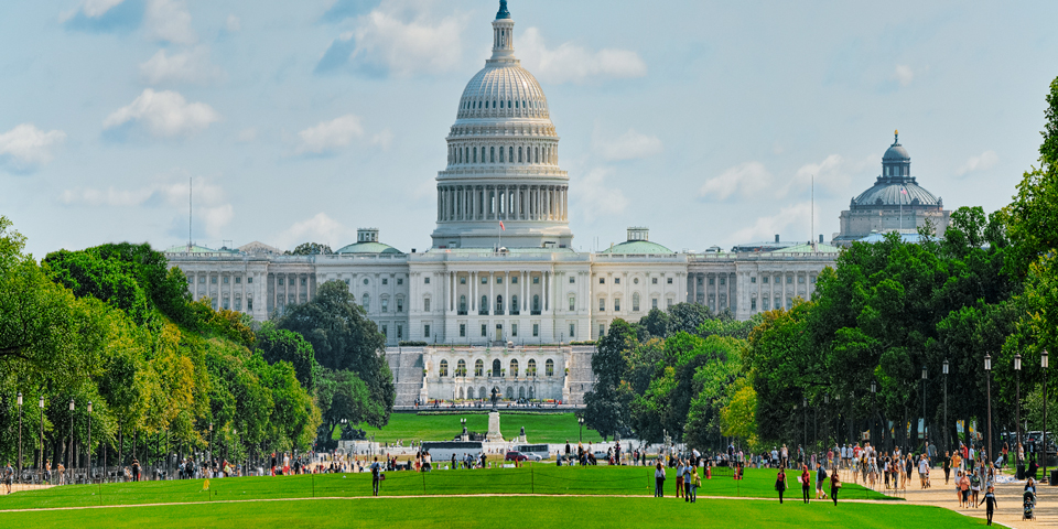 Den politiske højborg U.S. Capitol.