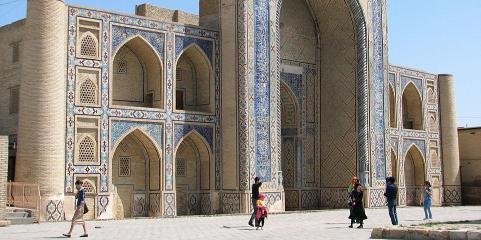 Kalan minareten i Bukhara.