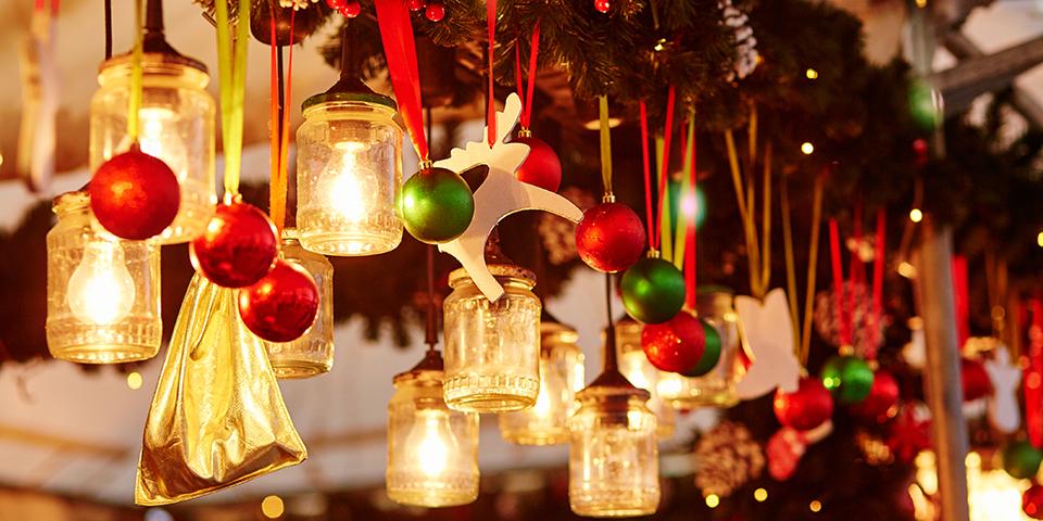 Nyd stemningen på Viborg julemarked.