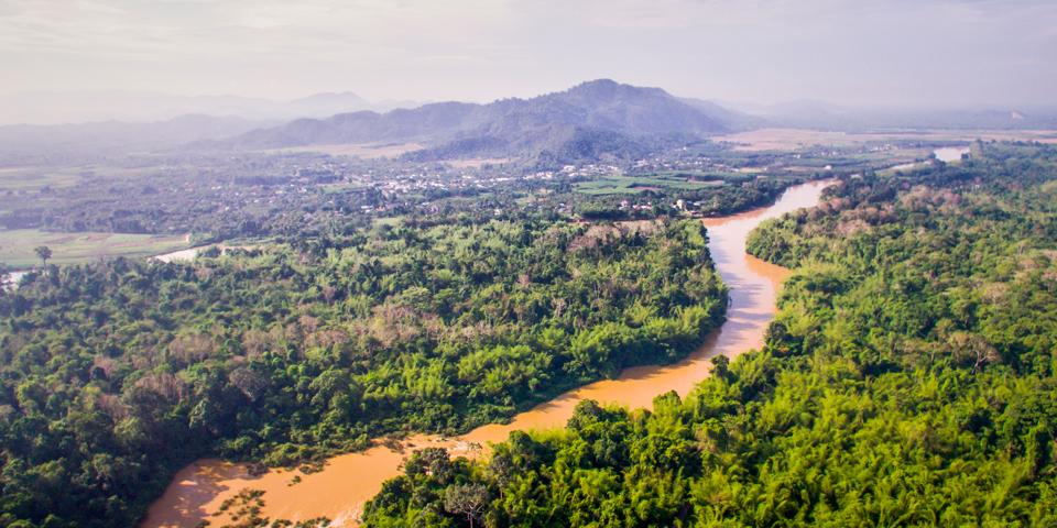 Udsigt over Tien-floden.